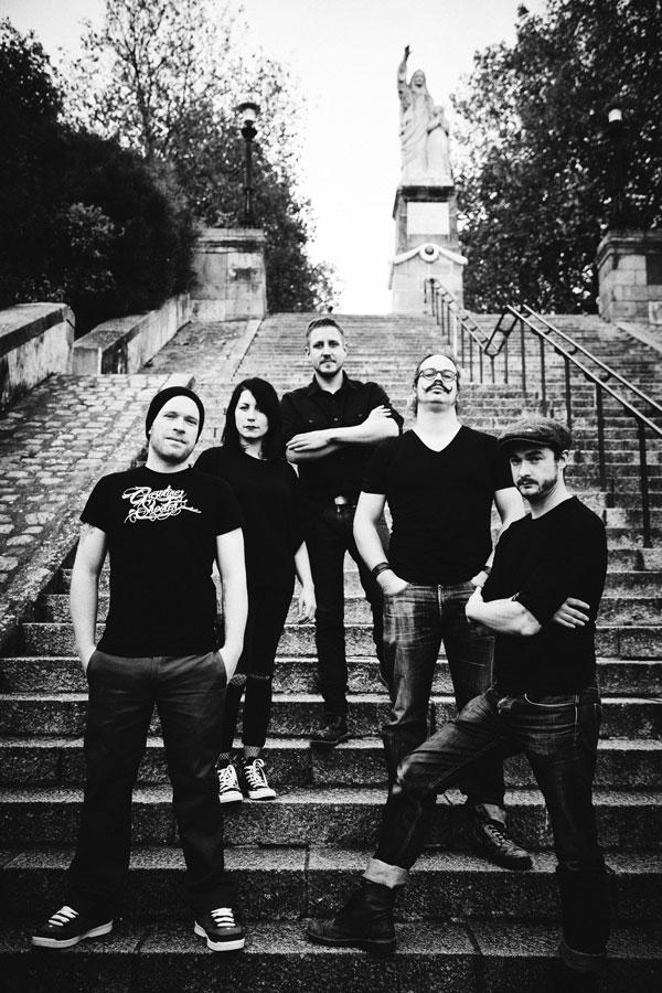 Kervegan's, Rock celtique, photo de presse #3