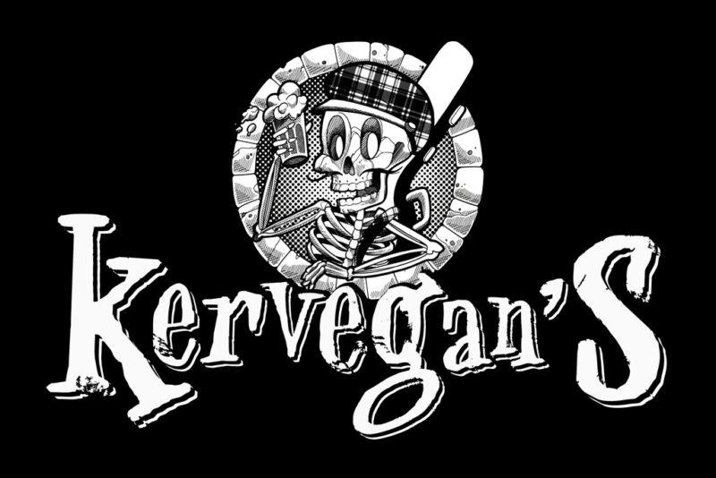 Kervegan's, rock celtic à Nantes, nouveau logo 2019